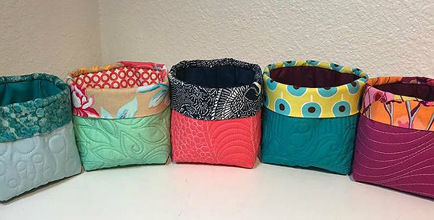 Little Quilted Buckets Pattern