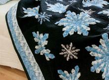Midnight Snowfall Quilt Pattern