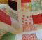 Scrappy Four-Patch Lap Quilt Pattern