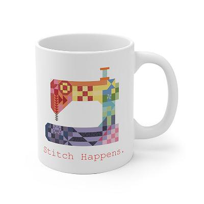 Stitch Happens Mug