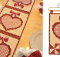 Vintage February Runner and Wall Hanging Patterns