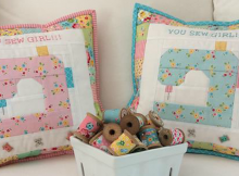 You Sew Girl Pillow Pattern