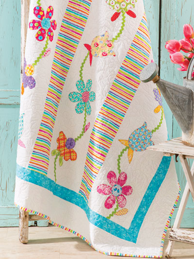 Simply Scrap Flowers Quilt Pattern