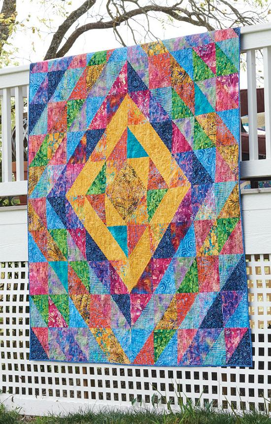Rainbow Riot Quilt Pattern