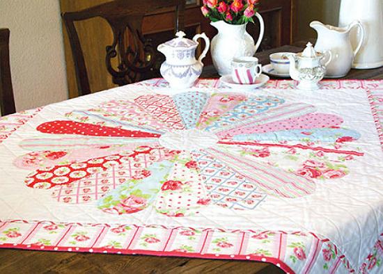 Rose Medallion Quilt Pattern