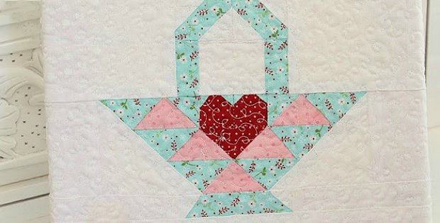 Easter Basket Block Pattern