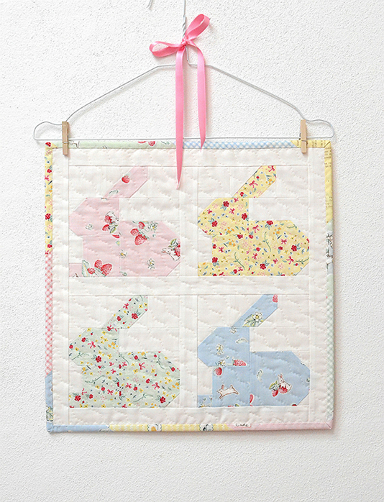 Pieced Bunnies Make A Sweet Quilt Quilting Digest