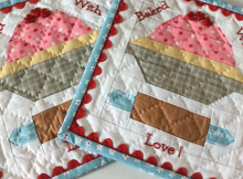 Baked with Love Pot Holders