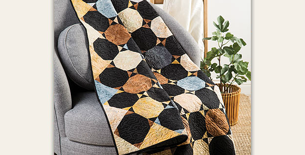 Coffee & Bow Ties Quilt Pattern