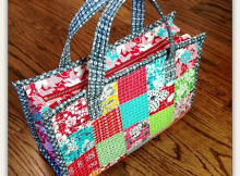 Dainty Tote Bag Tutorial