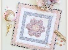 Flora Mini Quilt Pattern