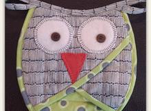Owl Oven Mitt Pattern