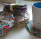 Braided Rag Rug Coasters
