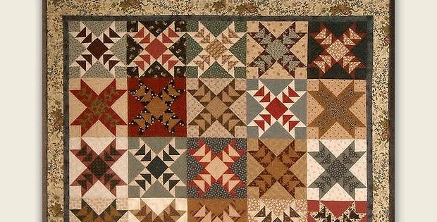 Scrappy Wild Geese Quilt Pattern