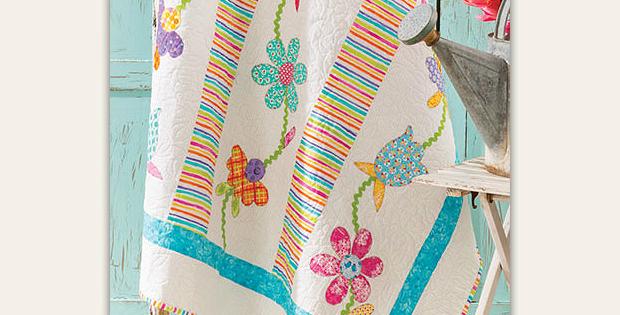 Simply Scrap Flowers Quilt Pattern