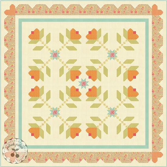 Sweet Sixteen Quilt Pattern