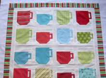 Mugs and Teacups Quilt Tutorial