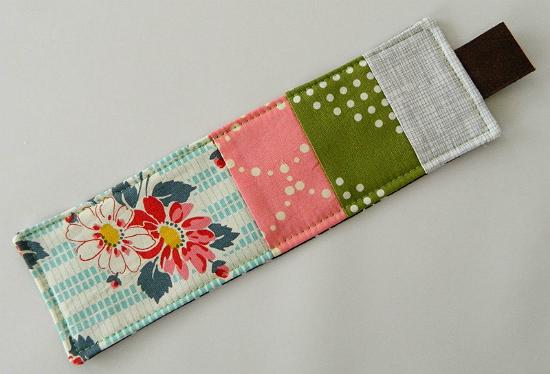 Fabric Bookmark Tutorial