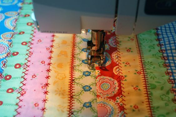 How to Quilt with Decorative Stitches