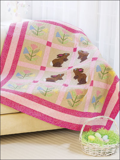 Backyard Bunnies Quilt Pattern