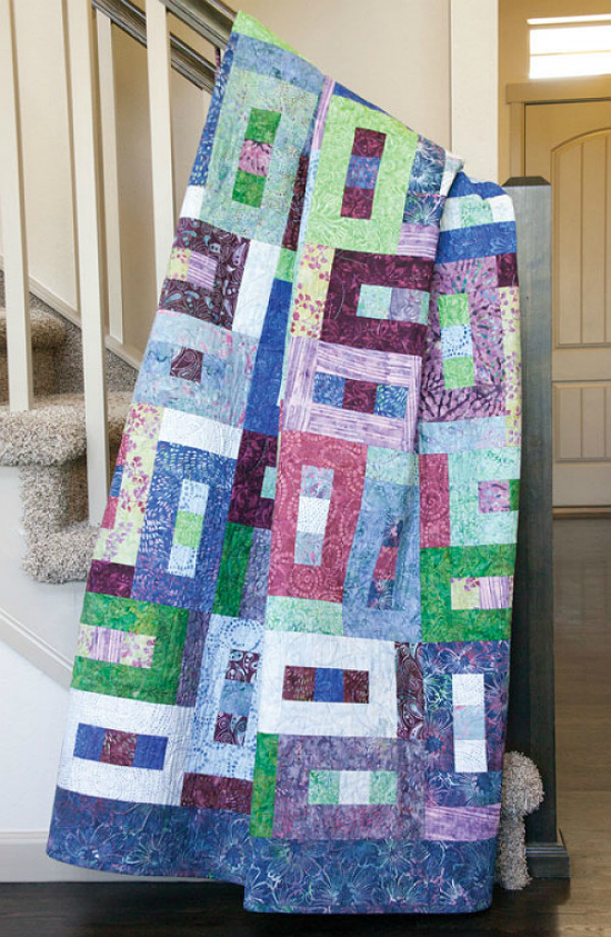 Rainforest Canopy Quilt Pattern
