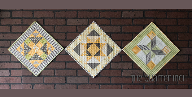Barn Charm Mini Quilts Pattern