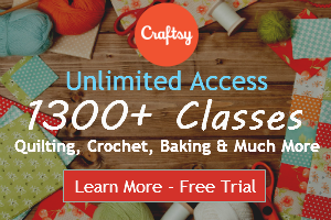 Craftsy Unlimited Free Trial