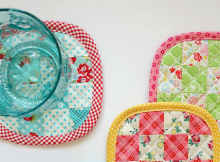 Scrappy Patchwork Coaster Tutorial