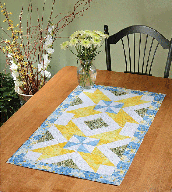 Double Dutch Treat Table Runner