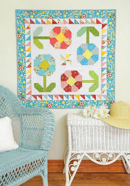 Happy Garden Quilt Pattern