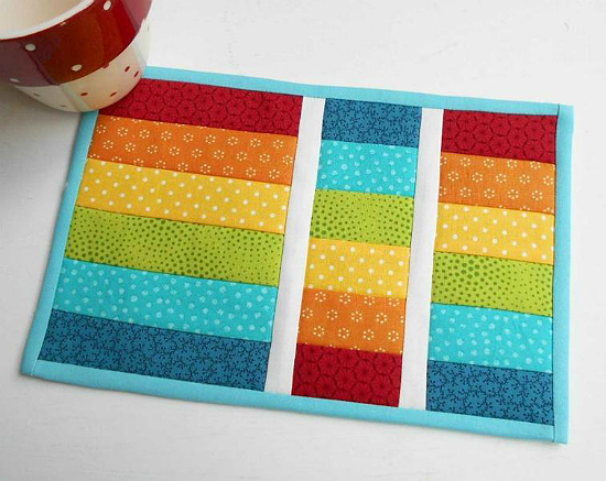 Qayg Makes A Super Quick Mug Rug Quilting Digest