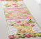 Flower Basket Table Runner Pattern