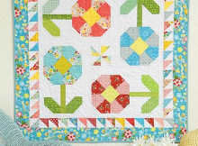 Happy Garden Quilt Pattern