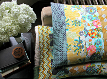 Quilted Pillow Shams Tutorial