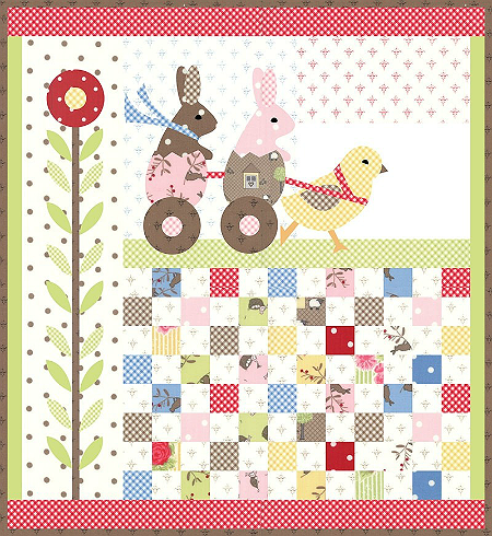 Spring Break Quilt Pattern