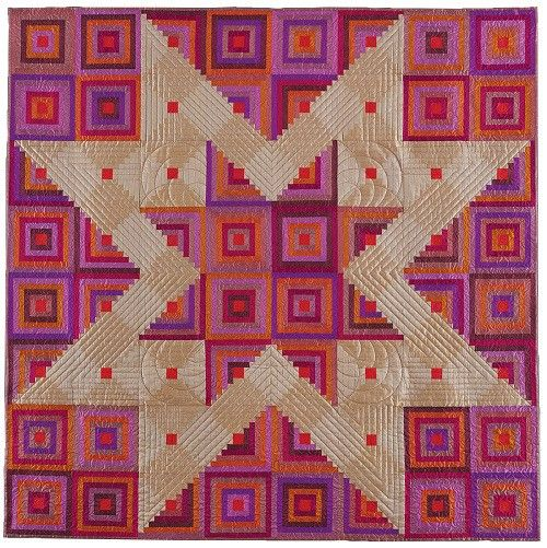 Sunset Star Quilt Pattern