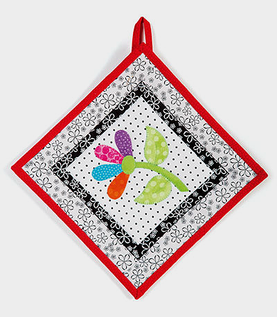 Flower Patch Table Runner and Pot Holder Pattern