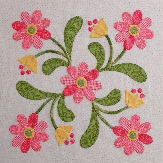 Painted Daisies Quilt Pattern