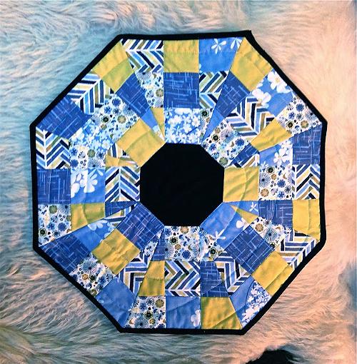 Octagonal Orb Block Pattern