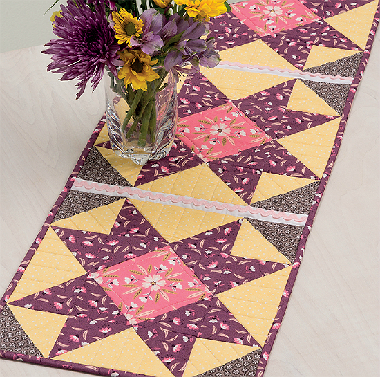 Spring Meadow Table Runner Pattern