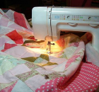 9 Tips for Quilting a Large Quilt on a Home Machine