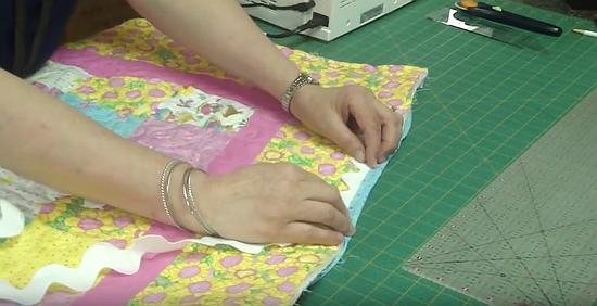 How to Bind a Quilt Entirely by Machine