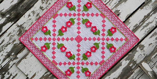 Center of Attention Baby Quilt Pattern
