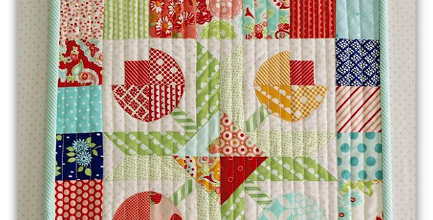 Flower Patch Mini Quilt Pattern