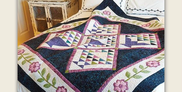 Flowers for Mama Quilt Pattern