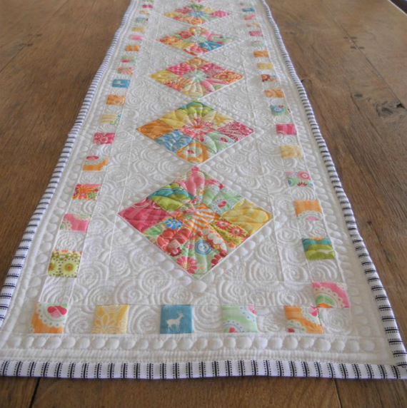 Happy Table Runner Pattern