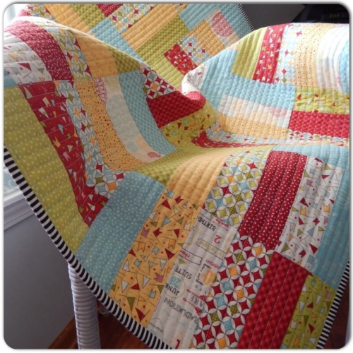 Create A Super Easy Quilt From Jelly Roll Strips