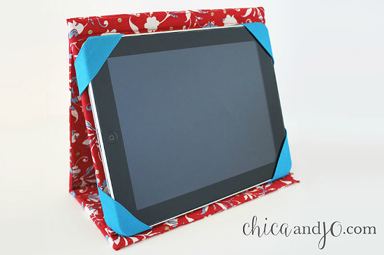 Fabric Tablet Cover Tutorial