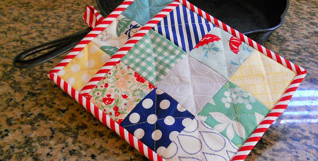 Patchwork Pot Holder Tutorial