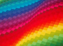 Rainbow Bargello Quilt Tutorial